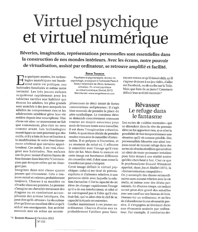 Virtuel psychique 1